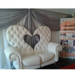BRIDE AND GROOM CHAIR jofla events