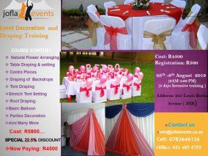 Event Decoration & Draping Training/