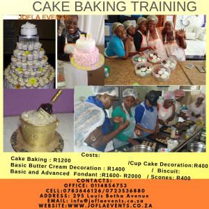 Cake Baking training/